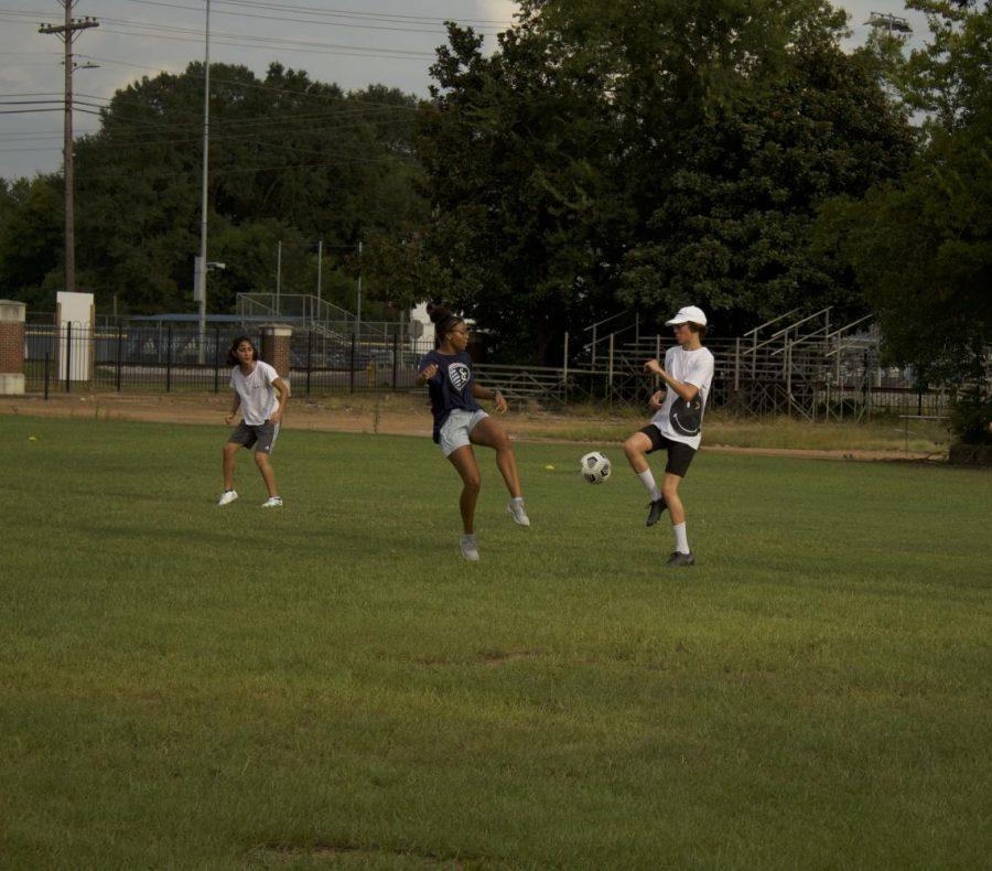 Soccer pickup games spread joy among student body