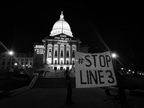 Activists across Canada and the Untied States protest the rebuilding of the Line 3 pipeline.