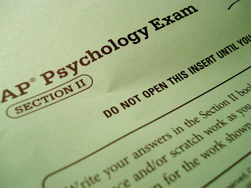 Students feel pressured to take AP courses and exams to help their college applications.